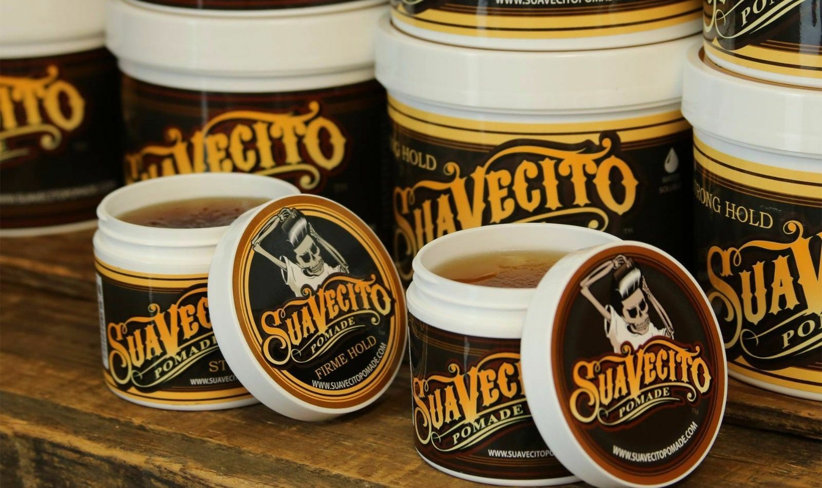 Suavecito Pomade Firme Strong Hold Hairstyles Hair Gel Wax Original Made In Usa Ointment 1 Of 5free Shipping