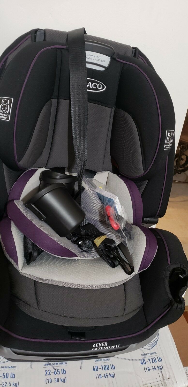 Graco 4Ever 4 In 1 Convertible Car Seat Of 4Only Available