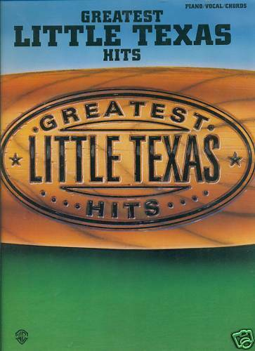 Greatest Little Texas Hits Pianovocalguitar Chords Country Music
