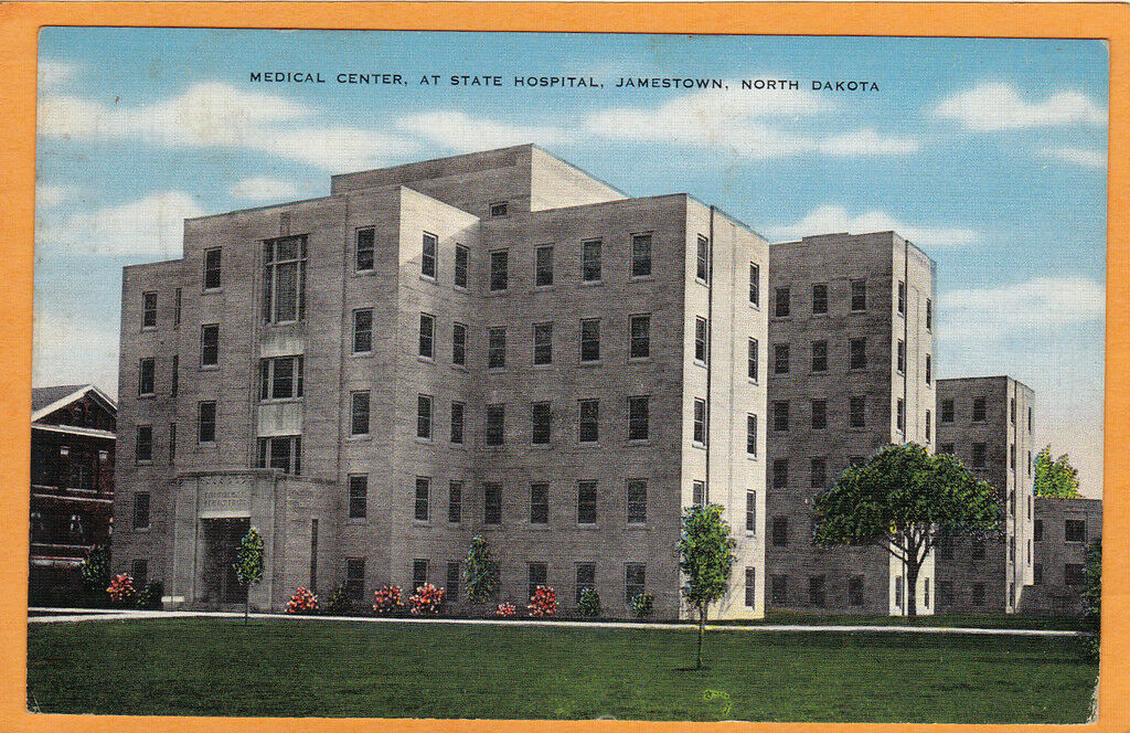 Jamestown (ND) United States  city photos gallery : Jamestown ND Postcard State Hospital for Insane • $10.99 1 of 1 ...
