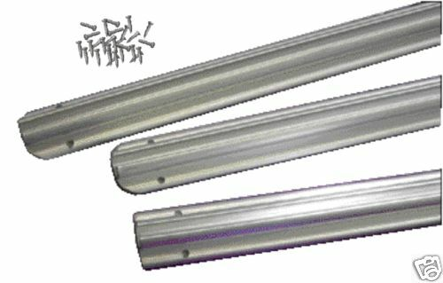 MOTORHOME CAMPER EASY FIT STRAIGHT AWNING RAIL 3.6M