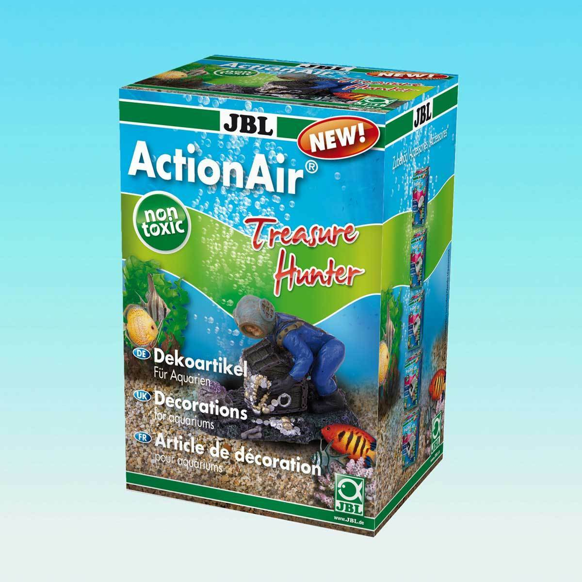 JBL ActionAir Treasure Hunter - Ausströmer Dekoration Deko Zubehör Aquarium