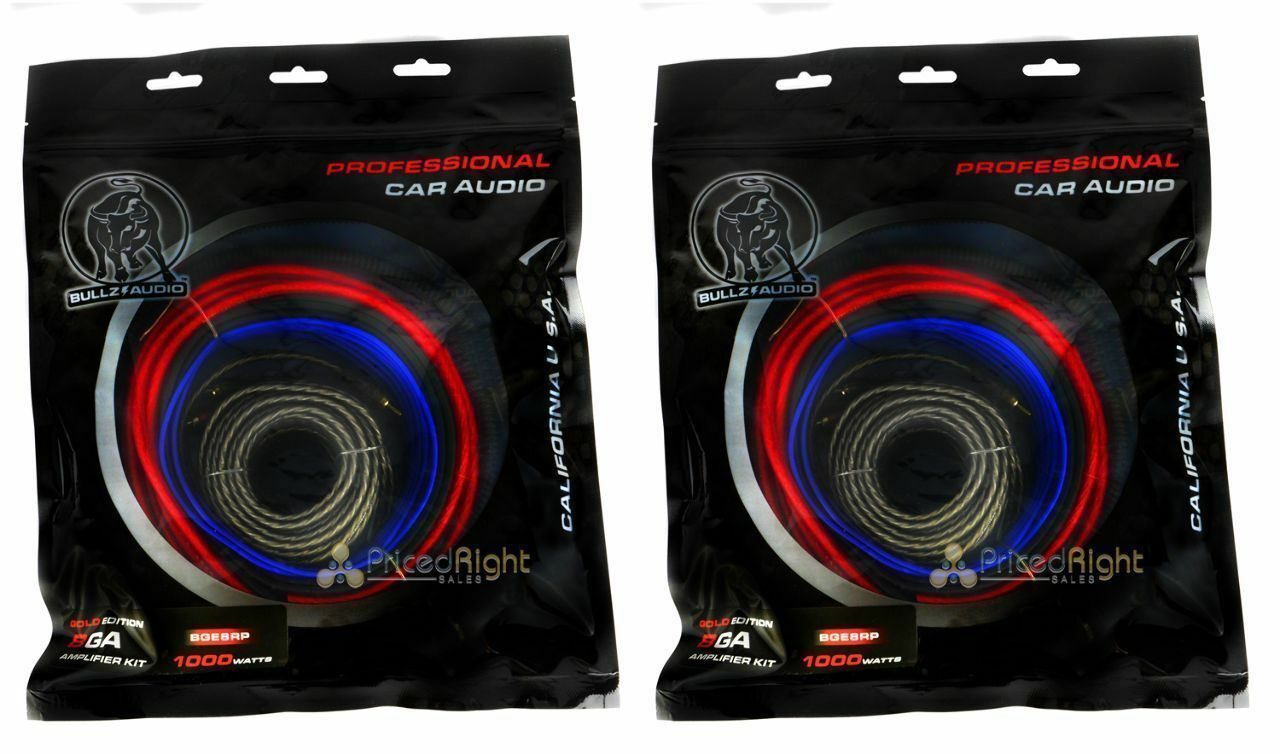 Car Audio Wiring Kits Library Kit For Subwoofers And An Amp 2 Bullz Epak8r 8 Gauge Amplifier Installation Power 1 Of
