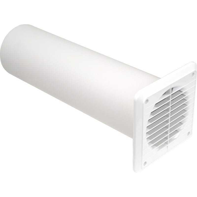 6 Duct Fan Extractor : Wall mounting kit for extractor fan mm quot duct tube