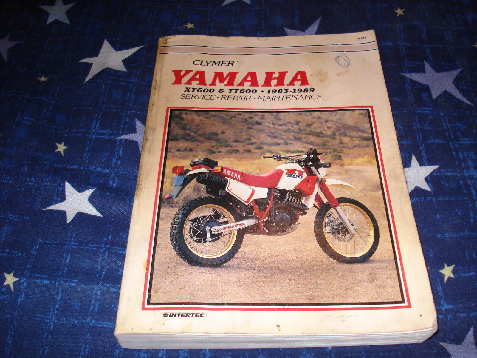 Clymer Yamaha 1983-1989 XT600 and TT600 Service Repair Manual 1 of 1Only 1  available ...