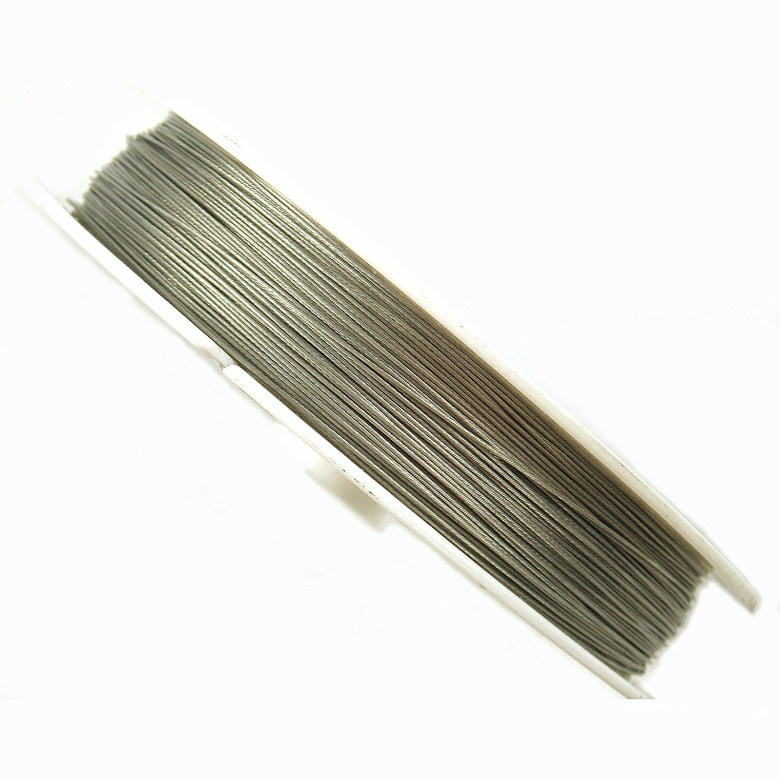 100 metres silver tigertail wire 0 45mm beading wire 163