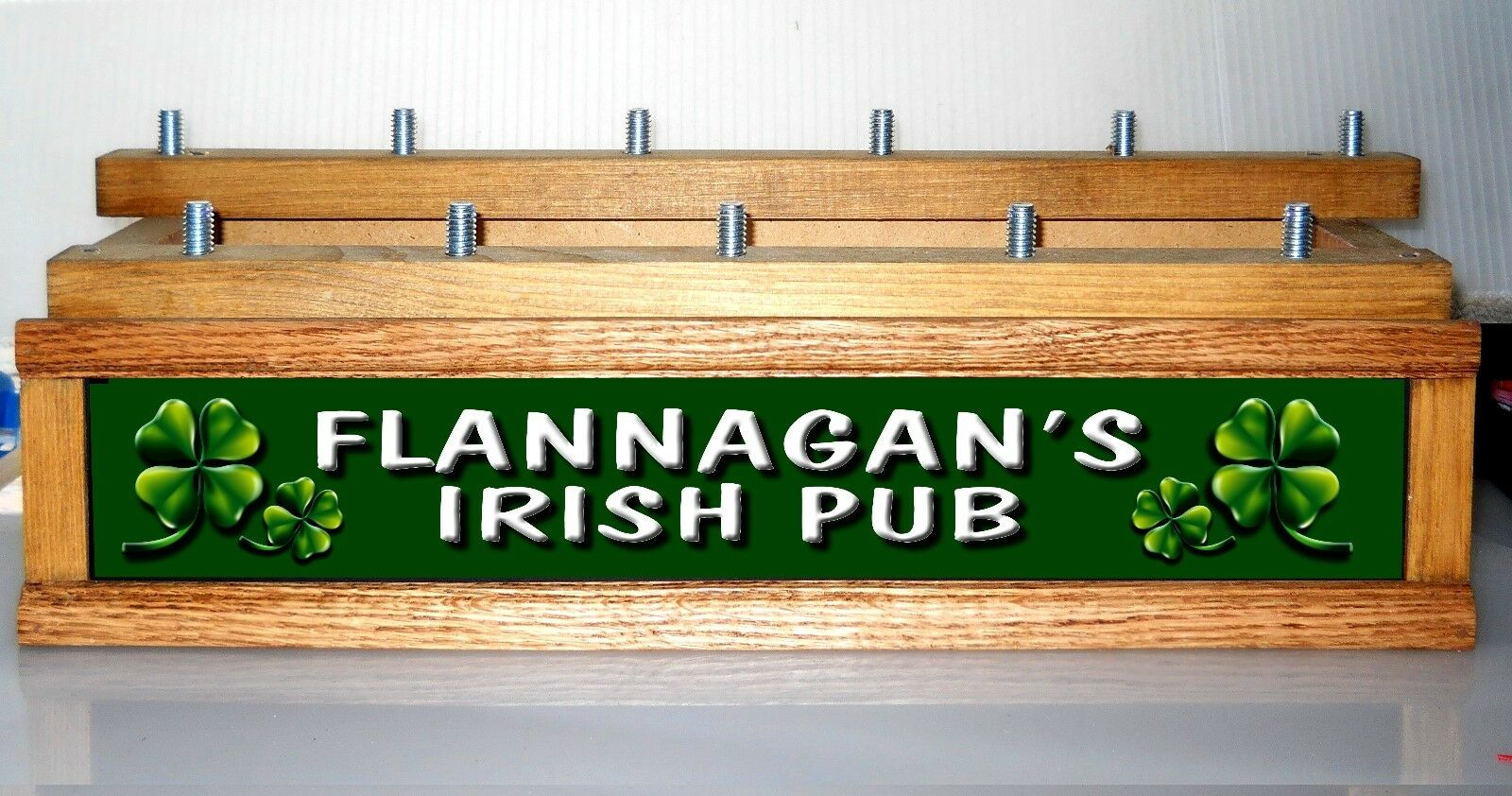 Color Leds Lighted Irish Pub Beer Tap Handle Display Personalized Holds11 1 Of 1only 2 Available See More