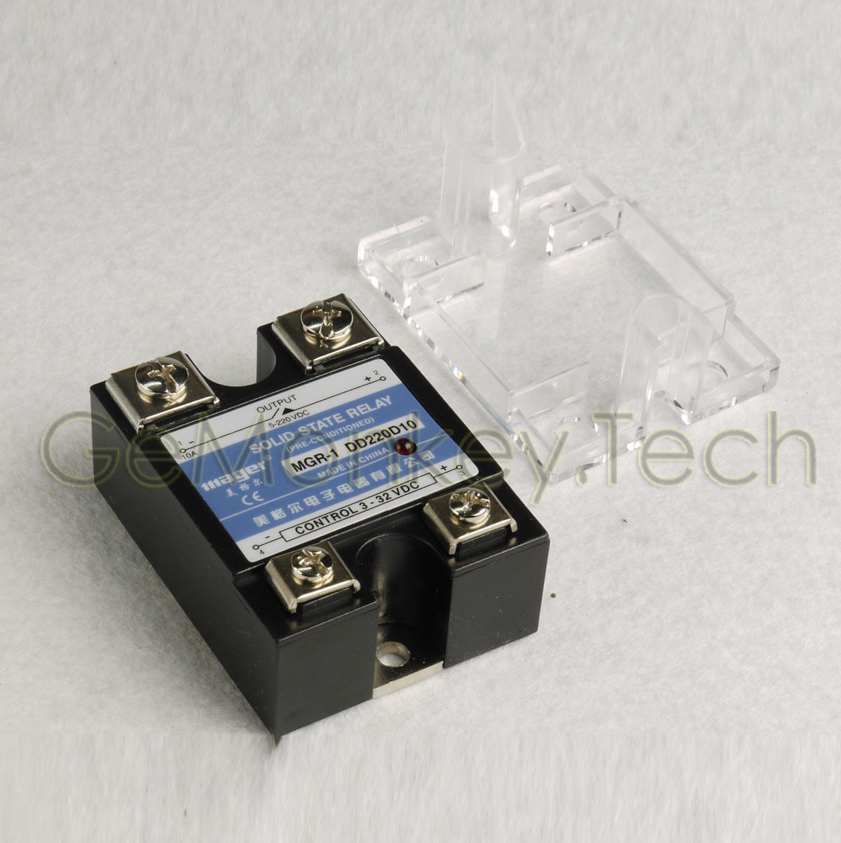 Solid State Relay Ssr Dc 10a 3 32vdc 5 220vdc 799 Picclick For 1 Of 4free Shipping