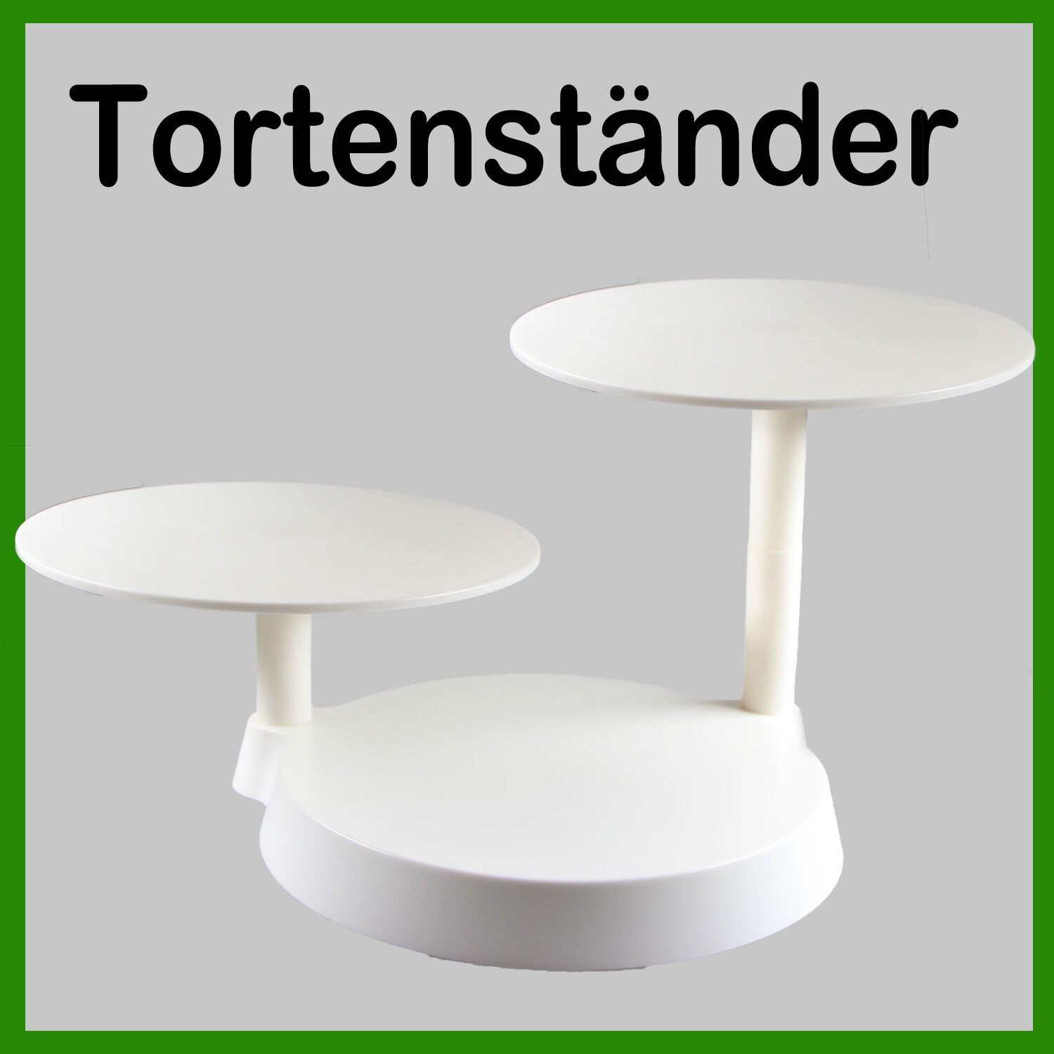 tortenst nder etagere 3 st ckig hochzeitstorte deko gestell ausstecher fondant eur 12 59. Black Bedroom Furniture Sets. Home Design Ideas