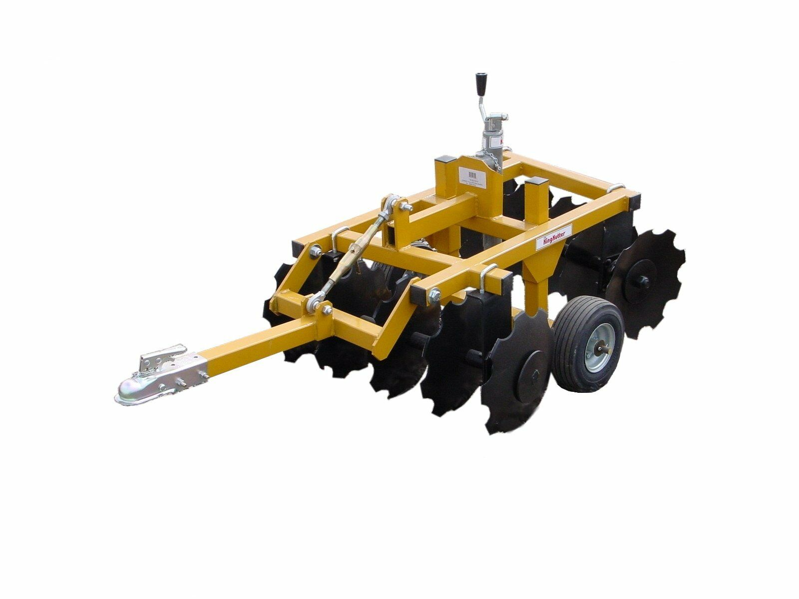 Notched Disc Harrow Blade 1 : King kutter compact disc atv notched blades cd y