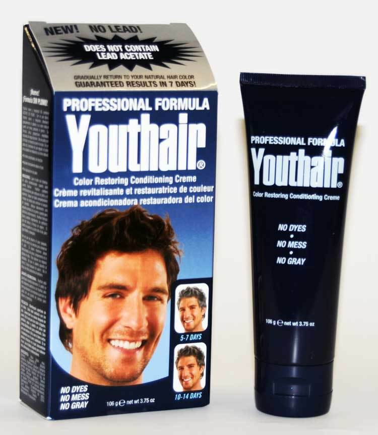 Youthair Professional Youth Hair Restore Your Own Hair Color No More