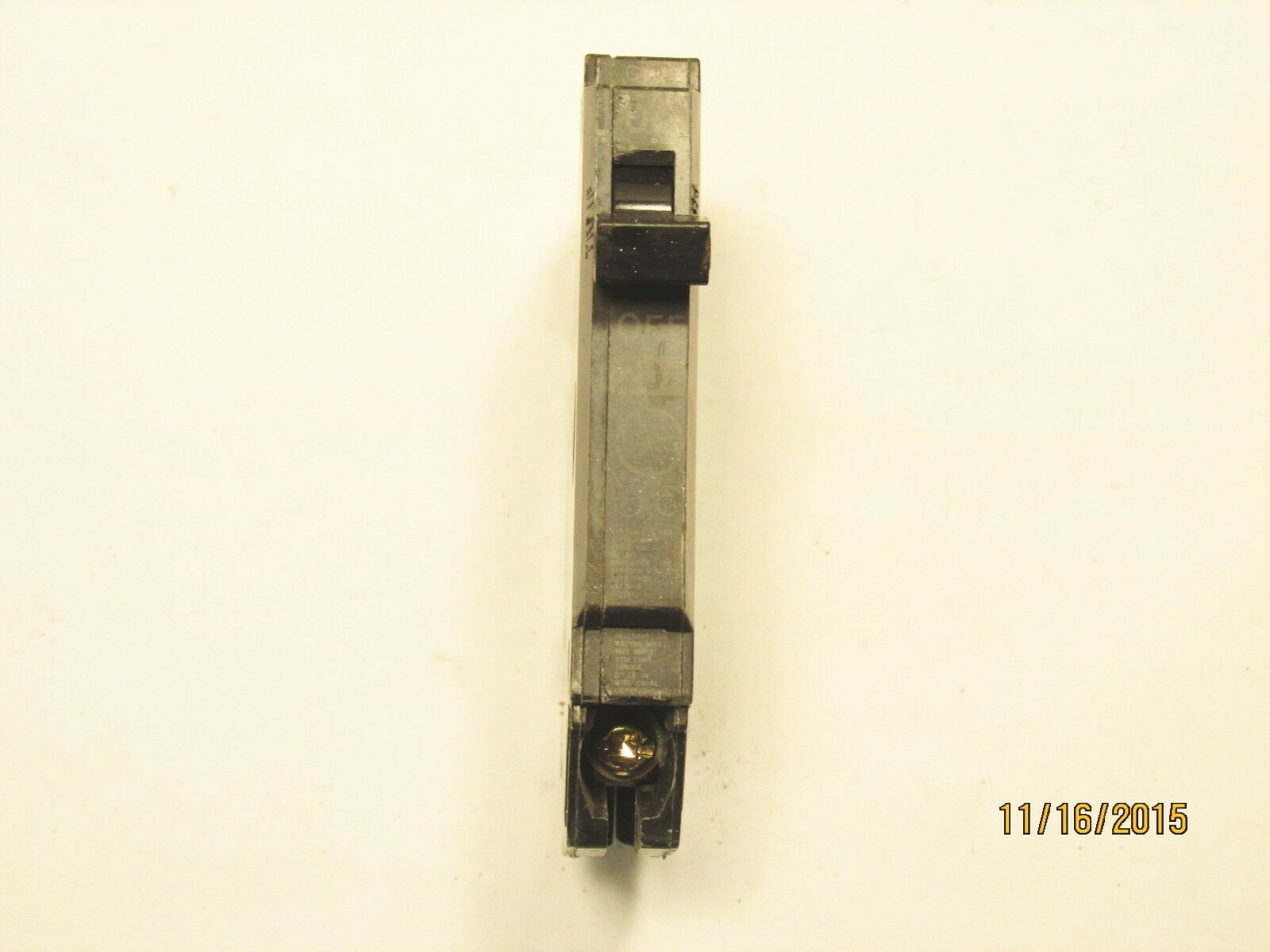 GENERAL ELECTRIC THQP120 1 Pole 20 Amp 120/240 Volt Circuit Breaker ...
