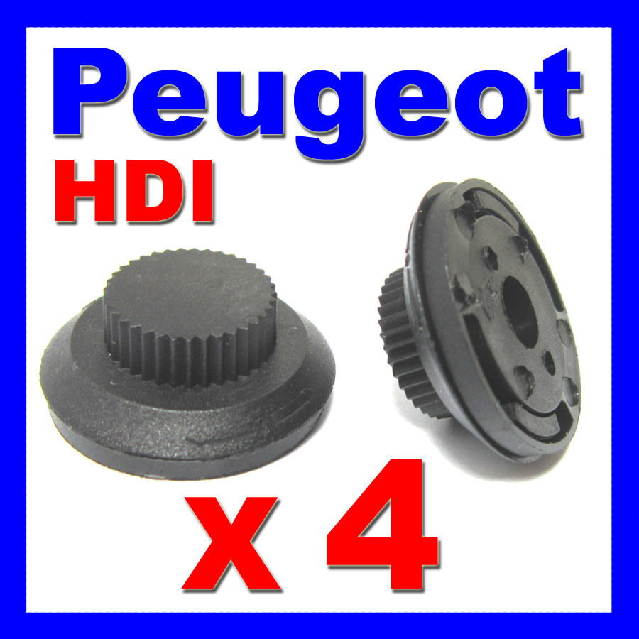 peugeot hdi engine cover clips diesel 206 207 306 307 406 607 partner x4 eur 5 32 picclick fr. Black Bedroom Furniture Sets. Home Design Ideas