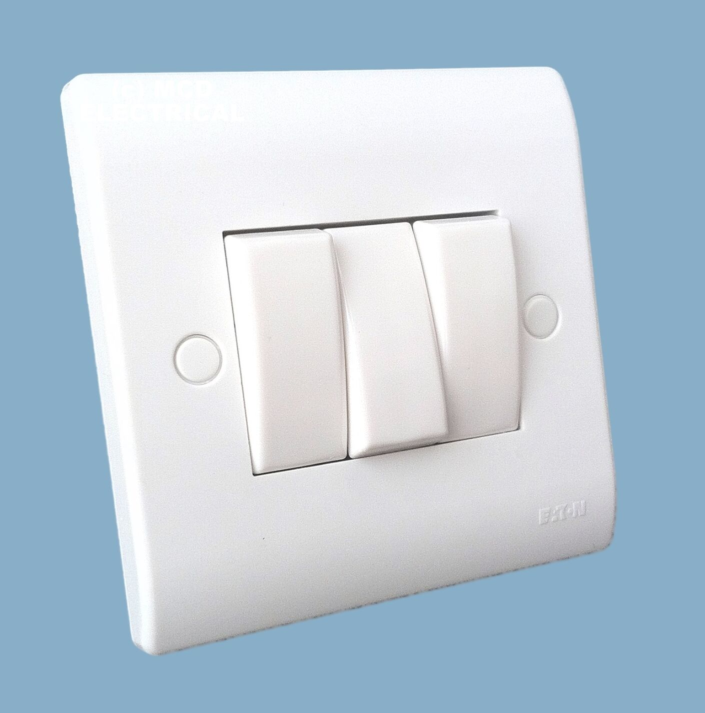 Eaton Mem P023 Light Switch 3 Gang Triple 10a 2 Way 645 Uk 1 Of 1only 5 Available