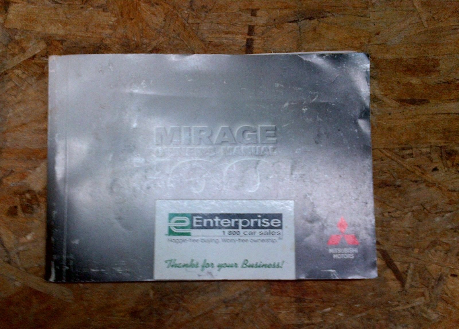 00 MITSUBISHI mirage OWNERS MANUAL / HANDBOOK / GUIDE PACKAGE 1 of 1Only 1  available See More