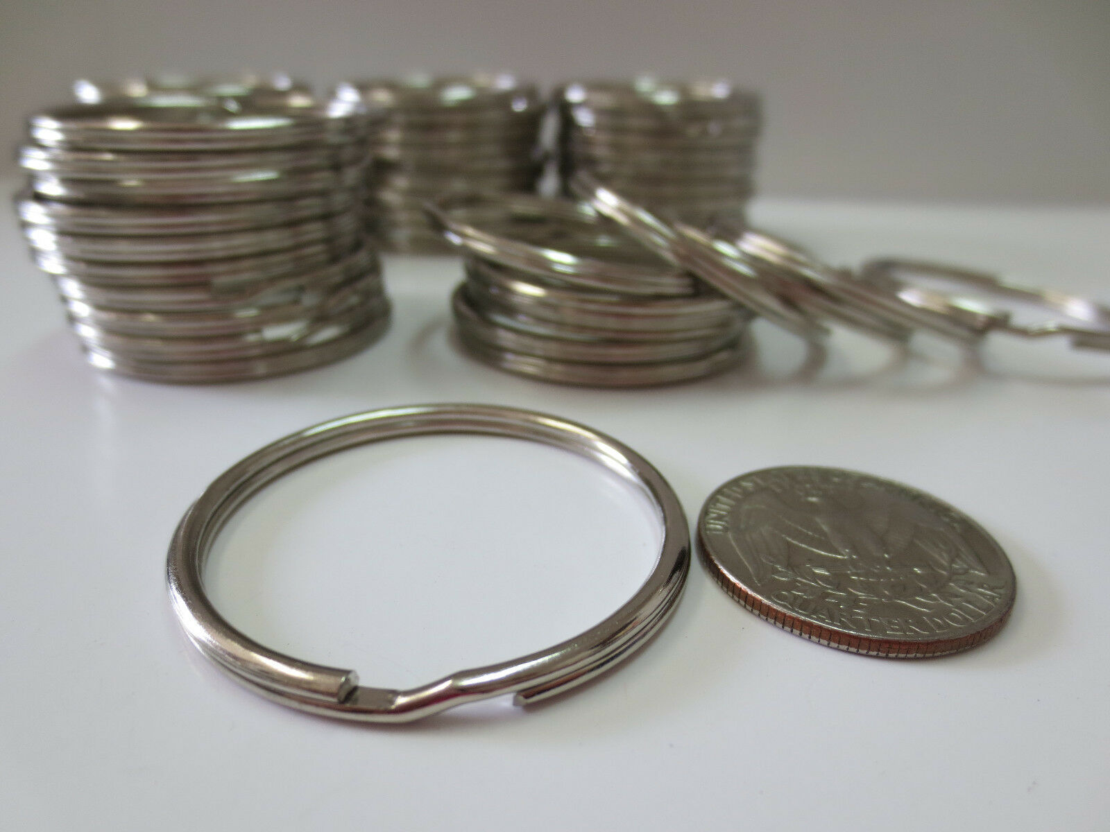 Wholesale Lot 50020010010 Split Rings Keyrings 15 1 2 Of 3FREE Shipping