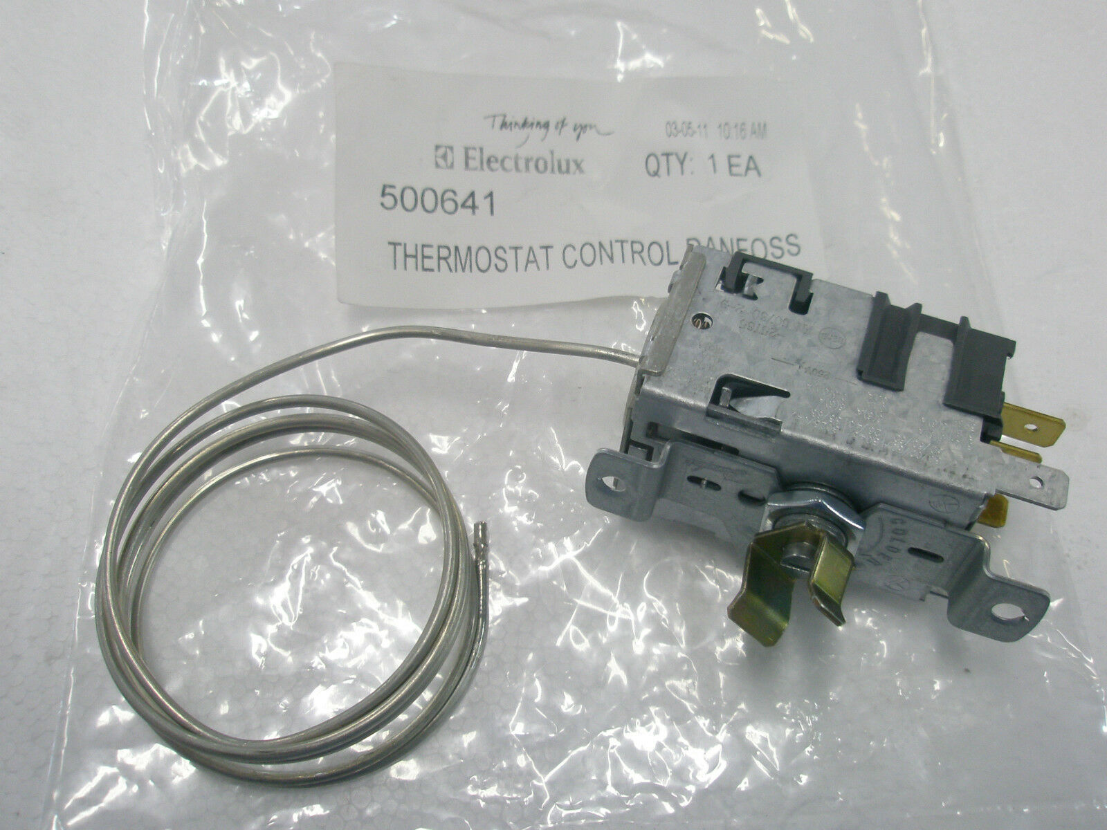 Kelvinator Fridge C340Sd C341Sd C350C Cyclic Defrost Thermostat 500641