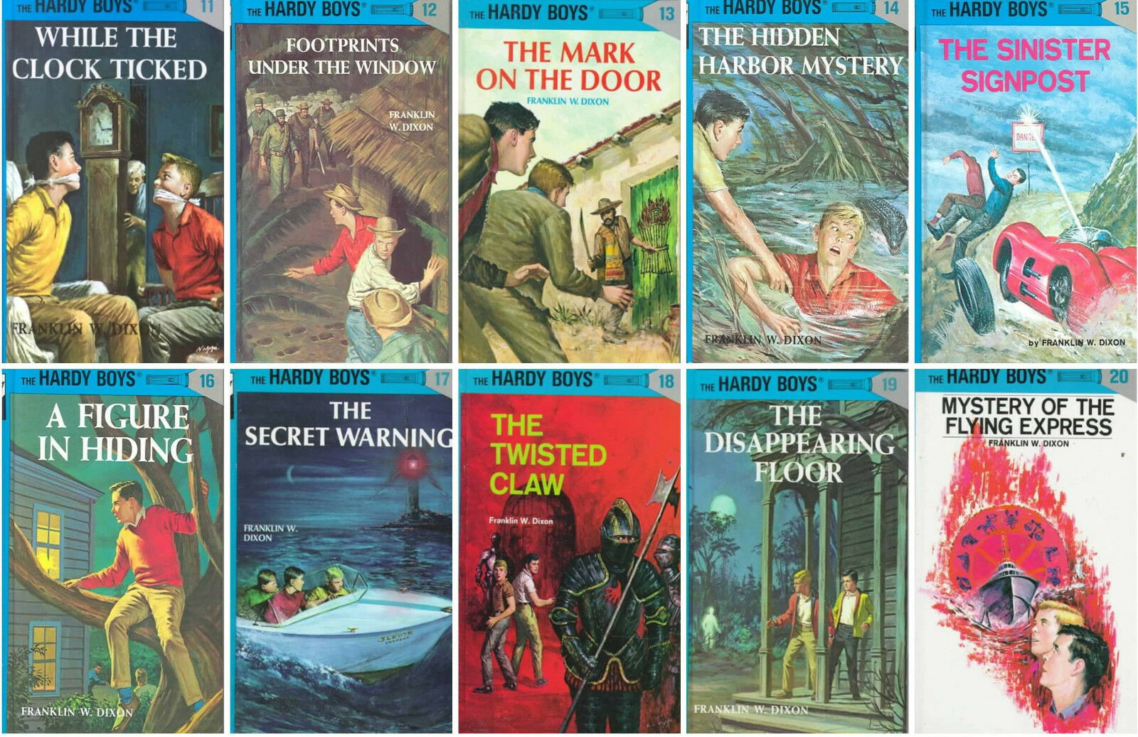 HARDY BOYS Collection Set 11-20 Coby Franklin W. Dixon MATCHING HARDCOVER  BOOKS! 1 of 1Only 0 available ...