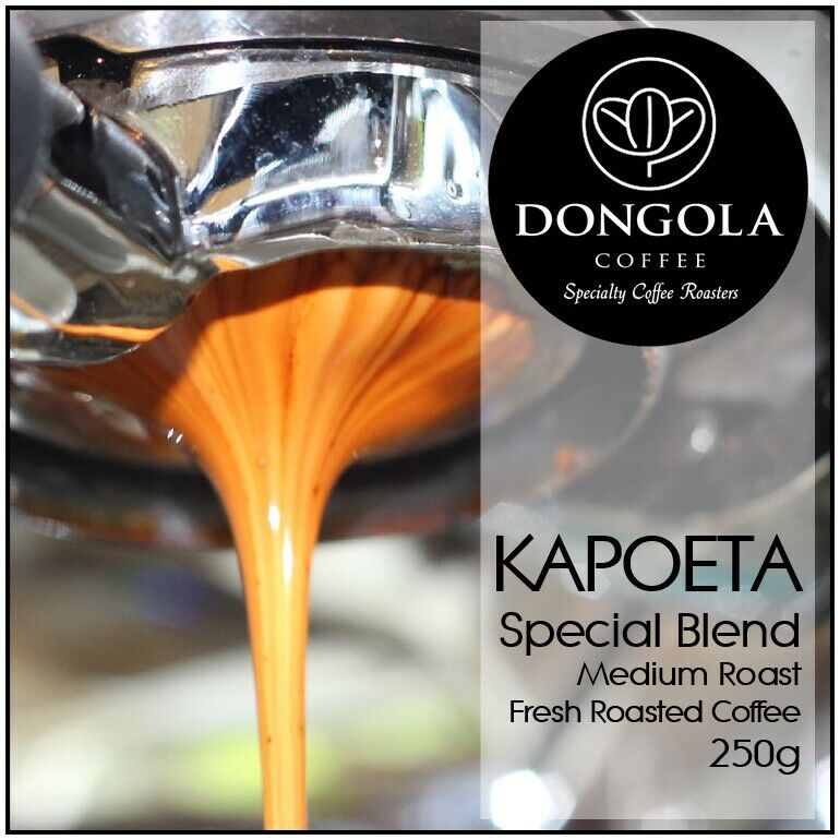 250g DONGOLA KAPOETA Fresh Roasted Coffee Beans Special Blend Whole Bean Ground
