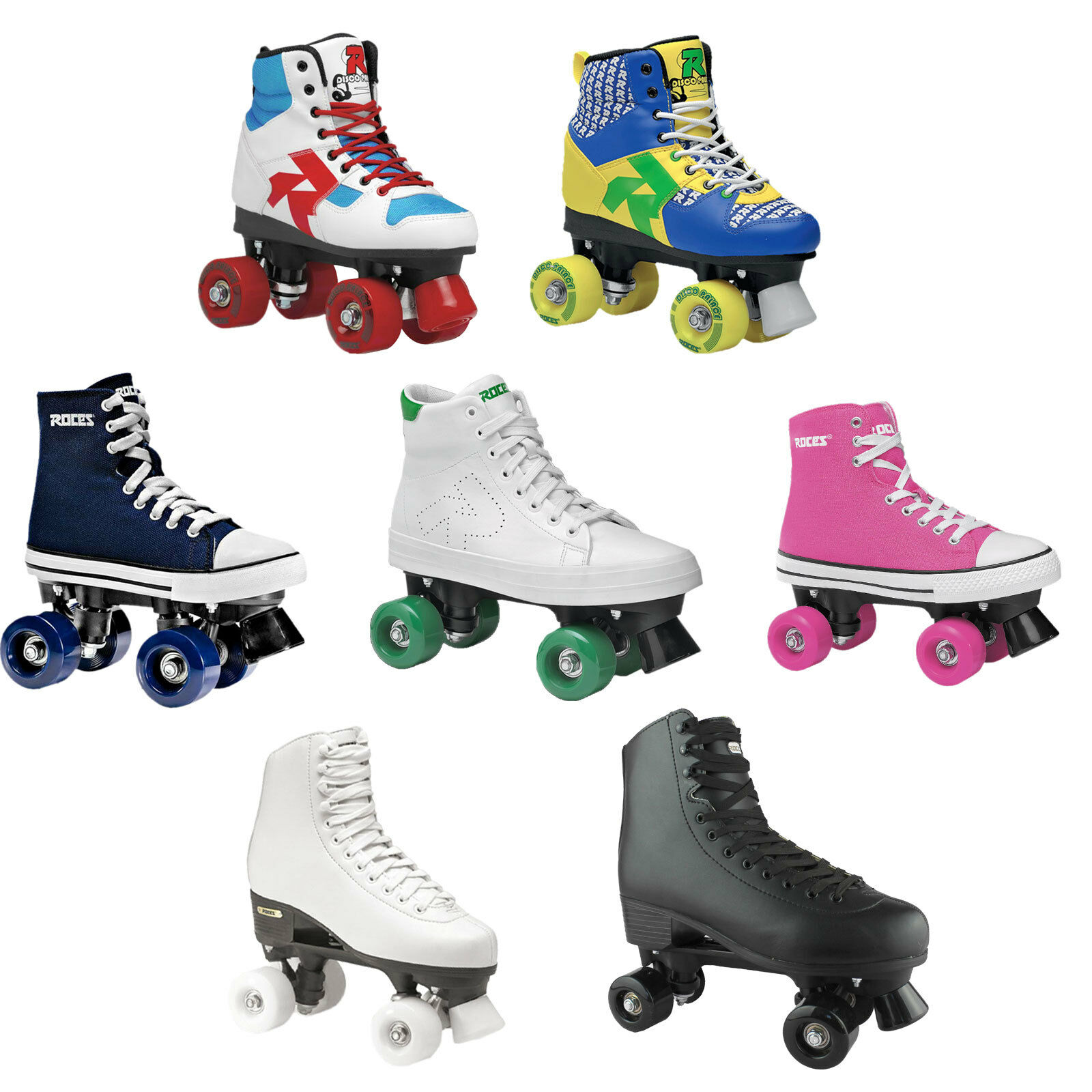 roces rollerskates quad roller skates rollschuhe eur 69. Black Bedroom Furniture Sets. Home Design Ideas
