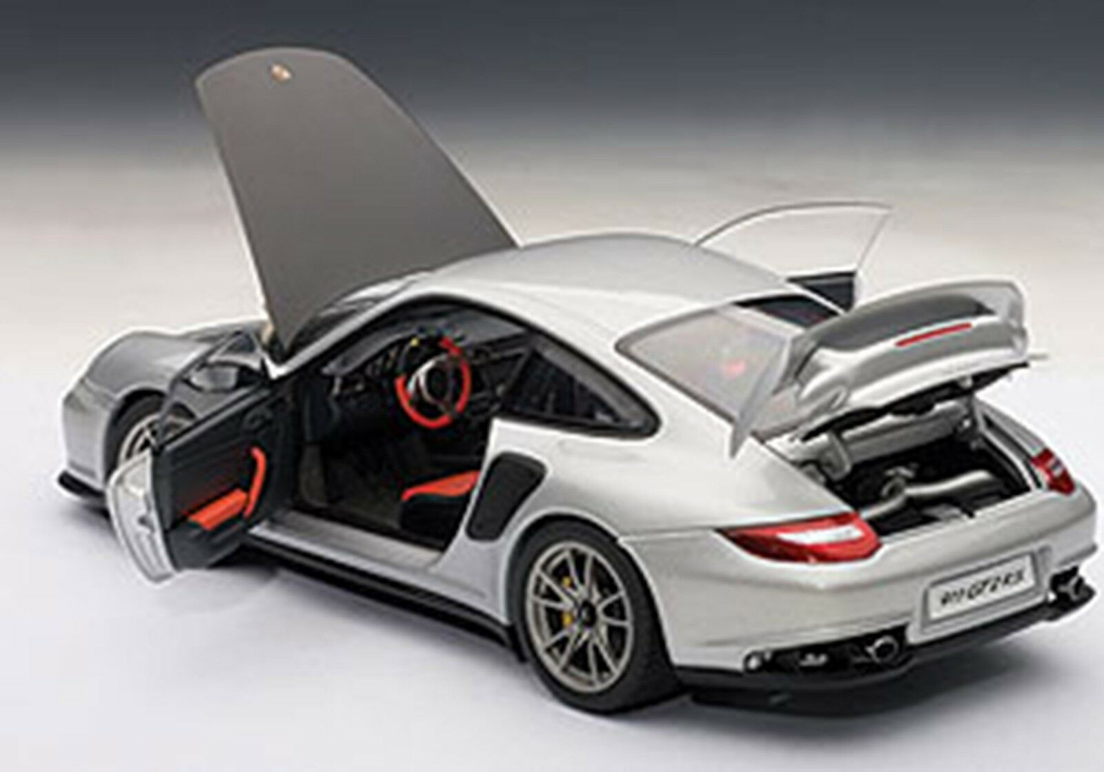 autoart porsche 911 997 gt2 rs silver 1 18 scale new release in stock cad picclick ca. Black Bedroom Furniture Sets. Home Design Ideas