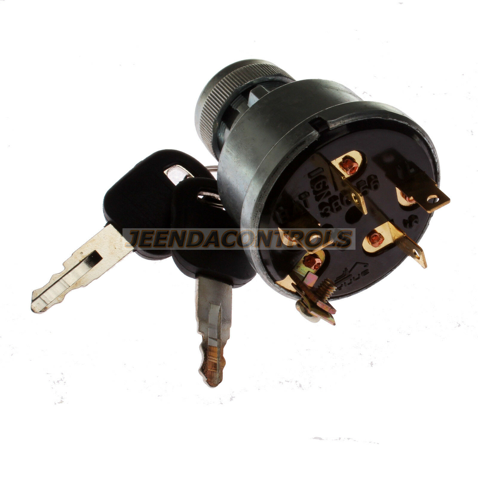 5 Terminal Wire Ignition Starter Switch 3E-0156 W/2 Keys For CATERPILLAR  3306 1 of 4FREE Shipping See More