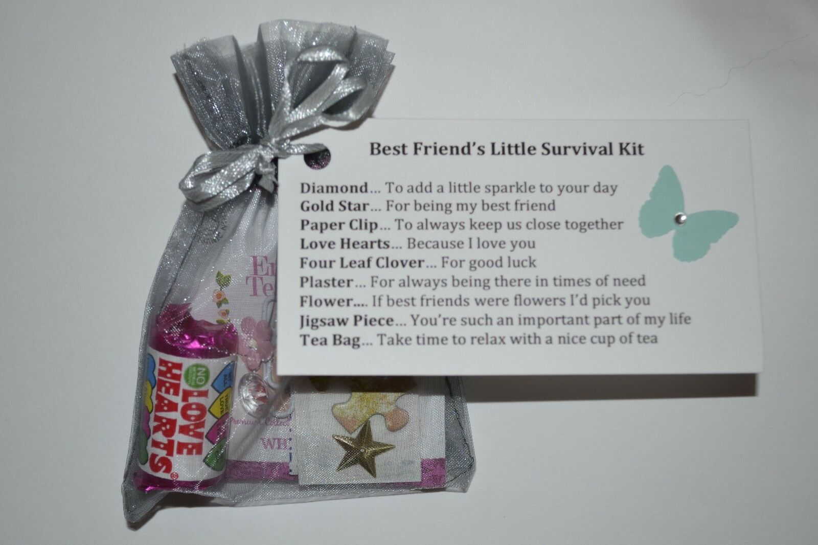 Best Friend Special Keepsake Gift Card Christmas Birthday Present Friendship Bag 1 Of 5FREE Shipping See More