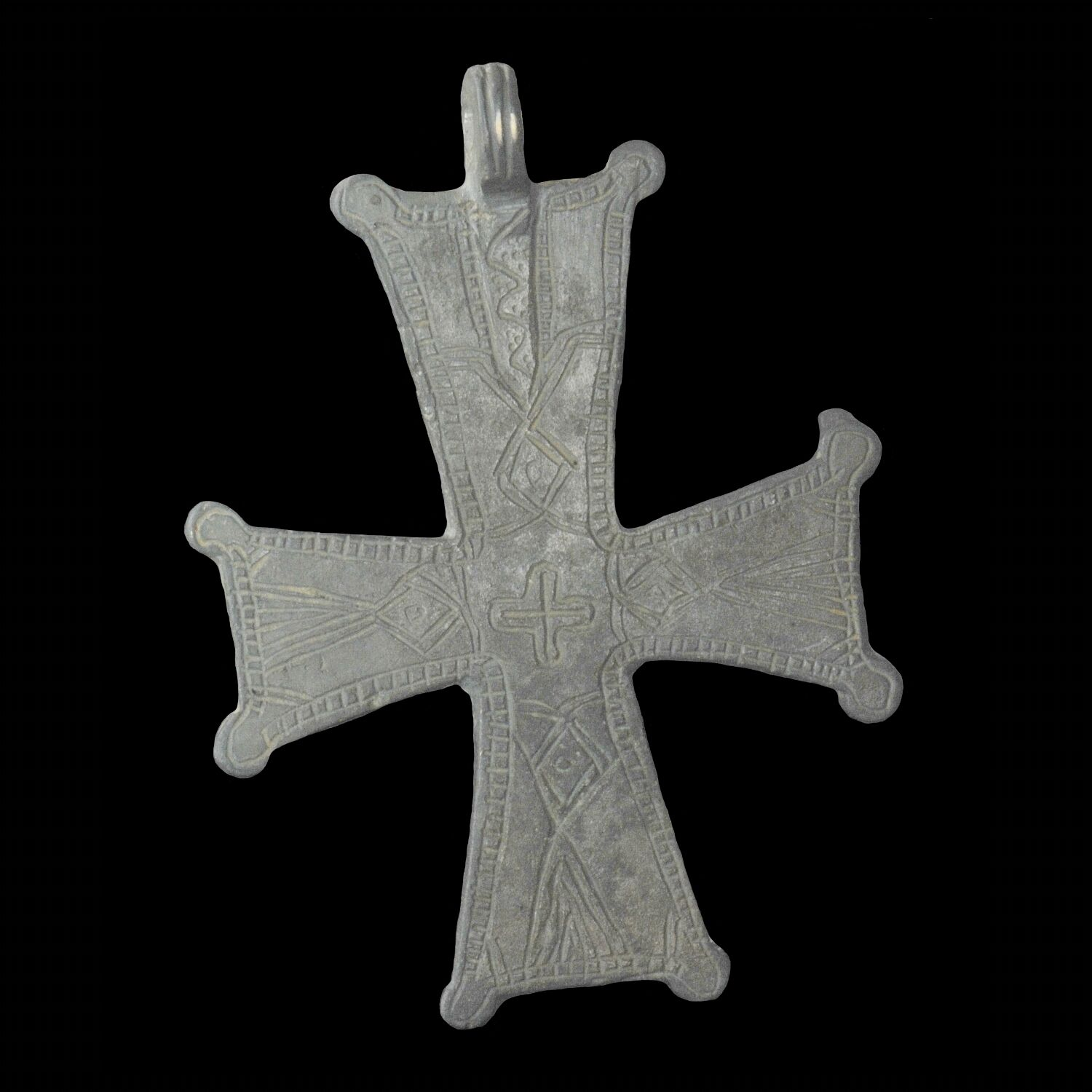 Aphrodite- Ancient Byzantine Silver Cross