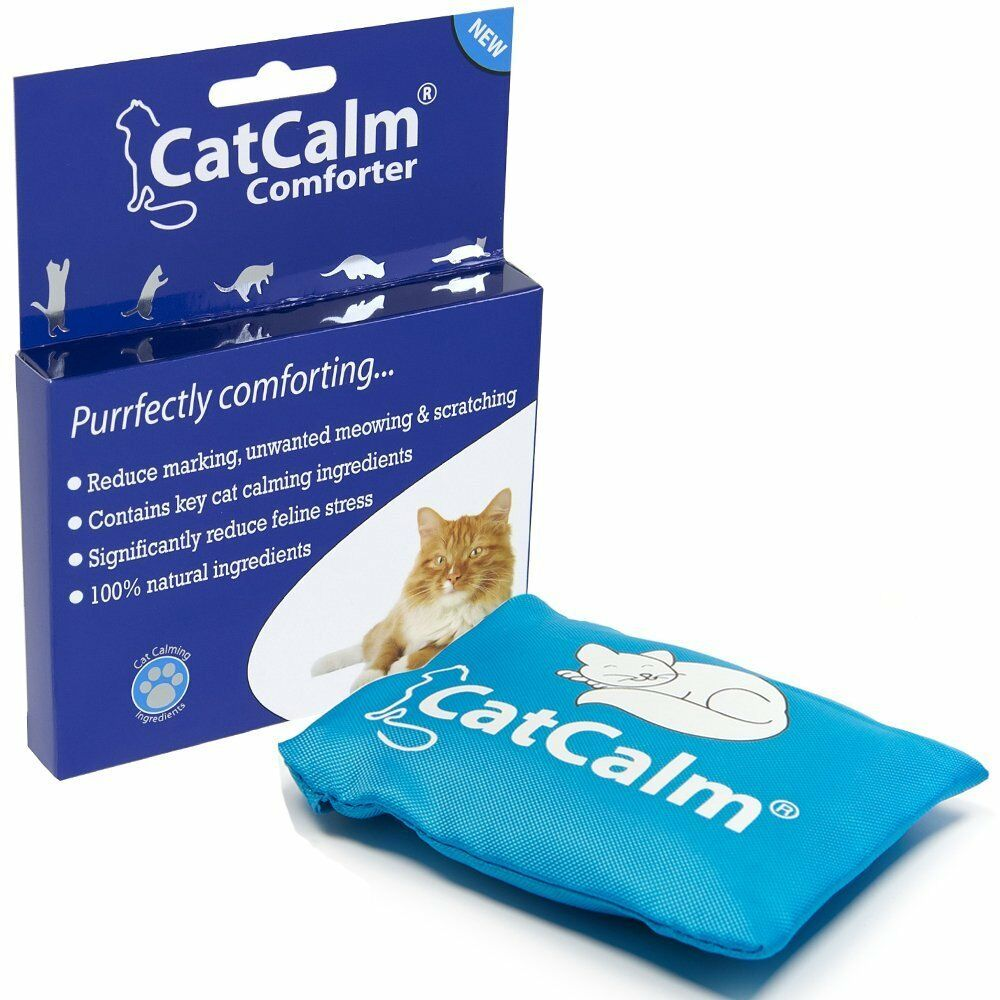 CatCalm Comforter Reduces Stress, Marking, Anxiety for a Calmer & Happier Cat!