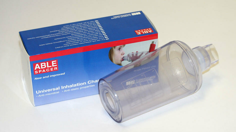 Clement Clarke Able Spacer Chamber For Inhalers 163 8 39