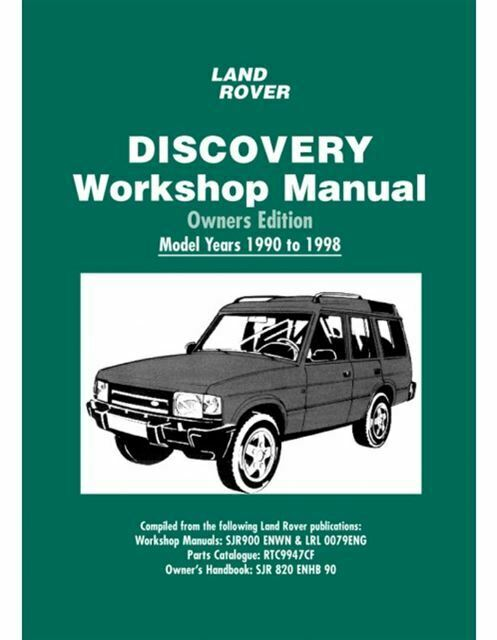 land rover discovery owners edition workshop manual 1990 1998 book rh picclick com 97 Land Rover Discovery Solenoid 95 Land Rover Discovery