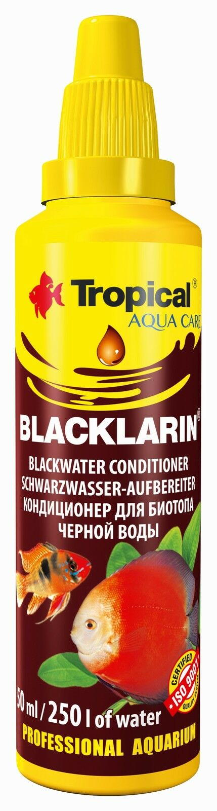 Blacklarin  With Peat Extract For Conditioning Black Tap Water In Aquarium