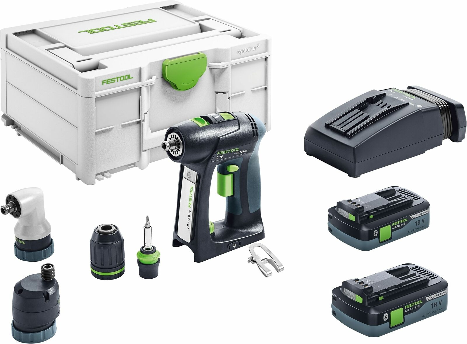 festool akku bohrschrauber c 18 li 5 2 set 575672 eur 629 00 picclick fr. Black Bedroom Furniture Sets. Home Design Ideas