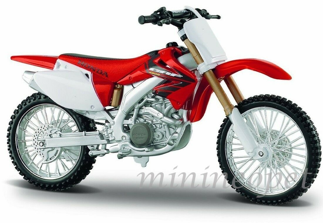 Maisto 31104 Honda Crf450r Crf 450r 1 12 Dirt Bike Red 1897 Hrc Pit Of 1only 0 Available