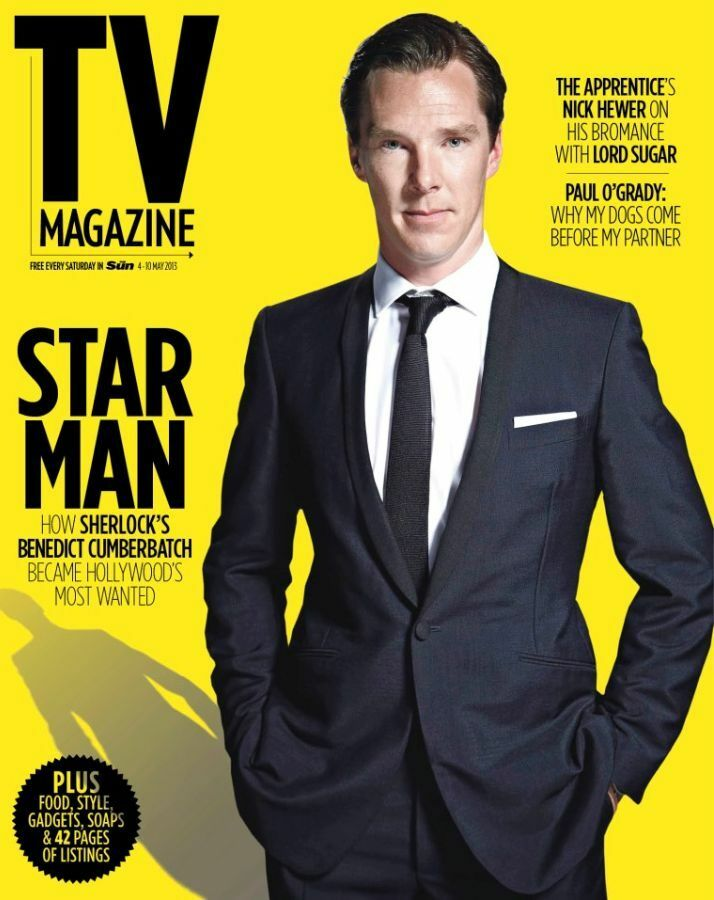 Benedict Cumberbatch – TV magazine – 4 May 2013 Benedict Cumberbatch Tv