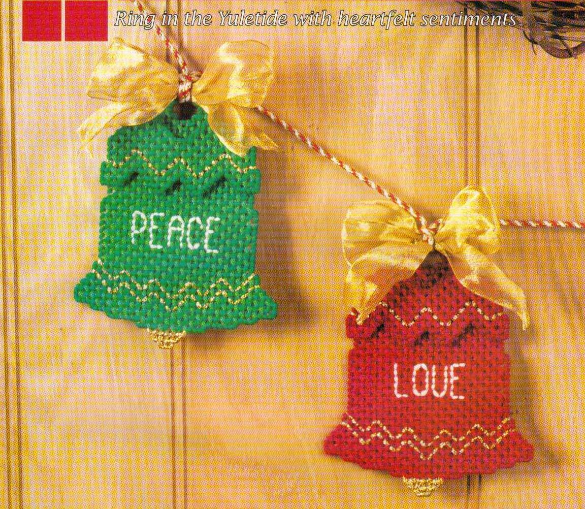 bell garland christmas plastic canvas pattern instructions 2 50