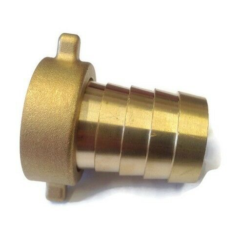 Brass Hose Tail Water Connector 2 Piece Female | For Garden Taps