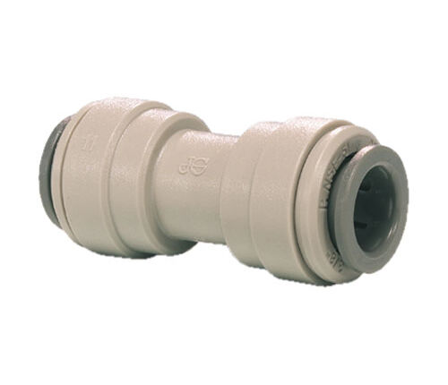 John Guest Push Fit Equal Straight Connector - Tube OD x Tube OD