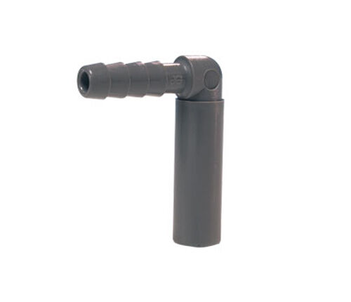 John Guest Push Fit Tube to Hose Elbow - Stem x Hose