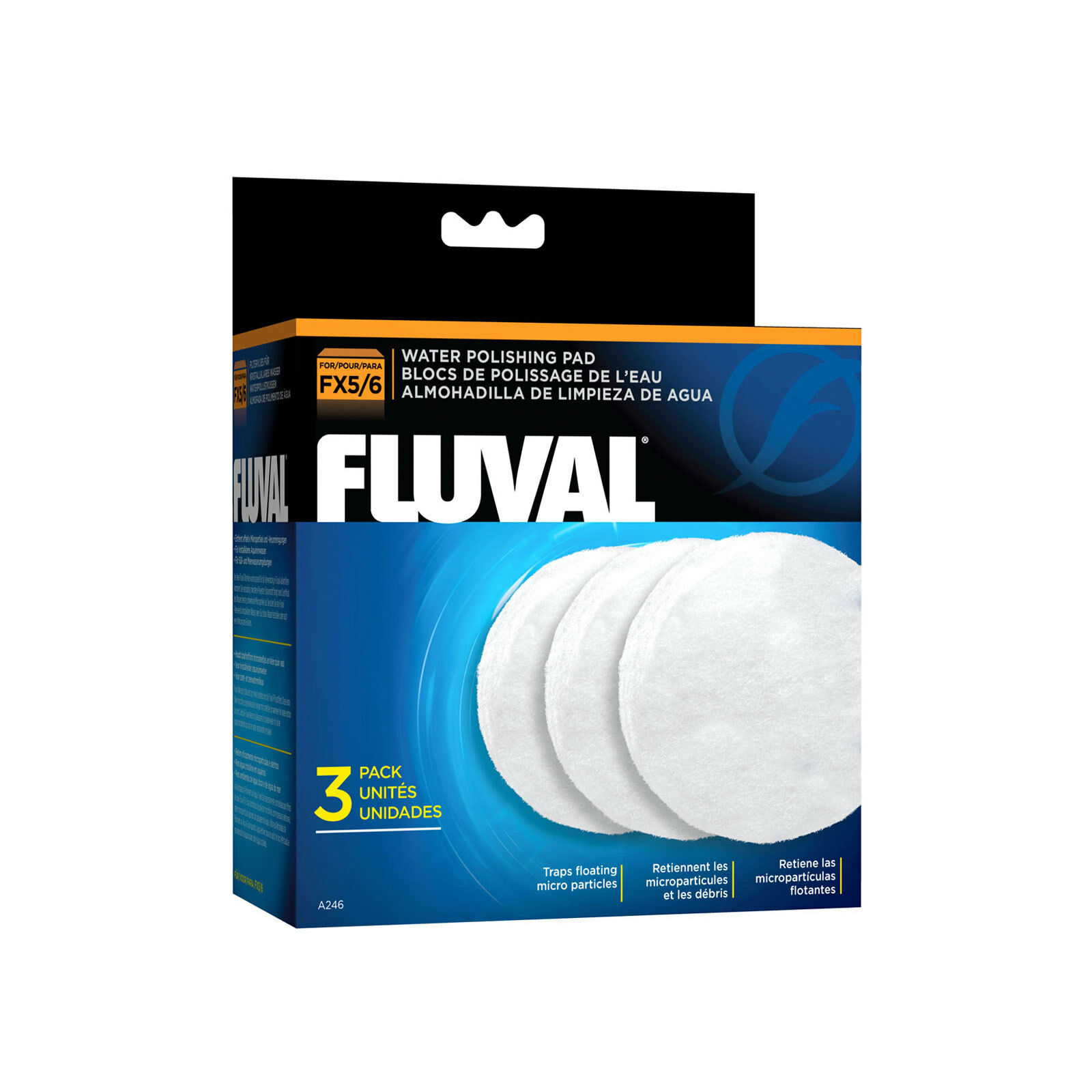 Fluval FX5 Water Polishing Pad, 3 Pack