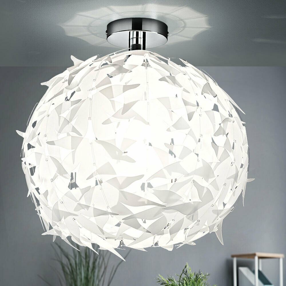 plafonnier led 7w luminaire plafond suspension design lampe boule blanc moderne eur 51 90. Black Bedroom Furniture Sets. Home Design Ideas