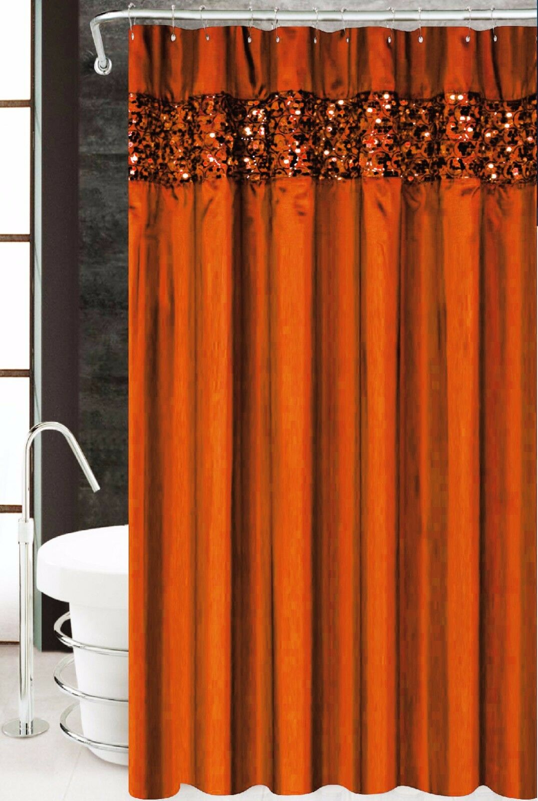 Western shower curtains luxury star shower curtain lone for Star material for curtains