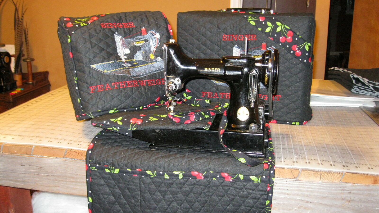 Singer Featherweight 221/222 Sewing Machine COVER SET with ...