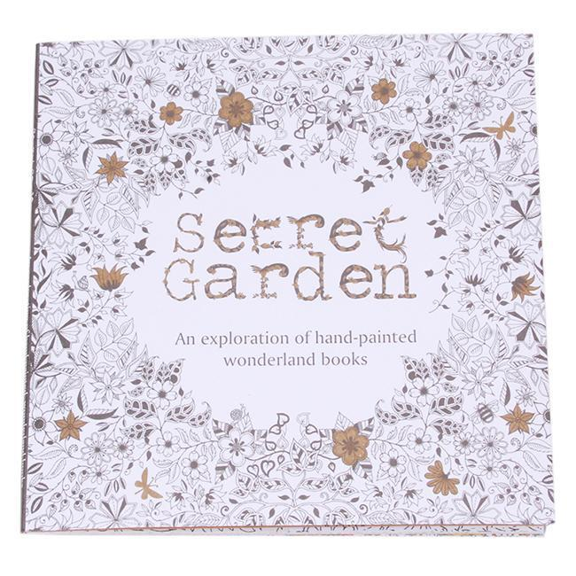 YOUNG ADULT English Version Of Secret Garden Coloring Book Antistress 20 Pages L