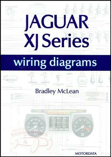 JAGUAR ELECTRICAL WIRING DIAGRAMS XJS XJ6 XJ12 SCHEMATICS BOOK McLEAN V12 1  of 1 See More