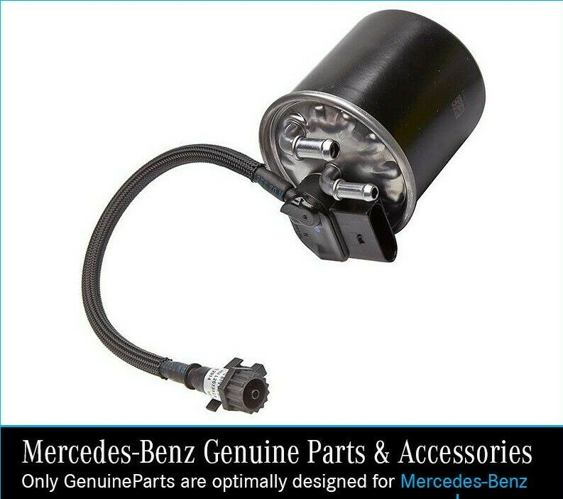 New genuine mercedes benz om651 engine fuel filter with for Mercedes benz usa customer service phone number