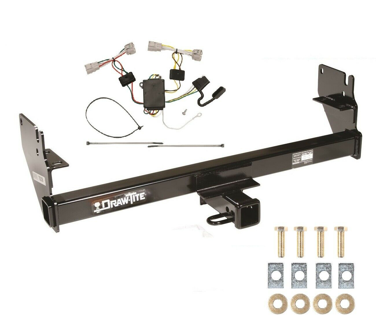 Toyota Tacoma Tow Hitch Wiring Trusted Diagrams Truck Trailer Class 3 For 2005 2015 2 Steps