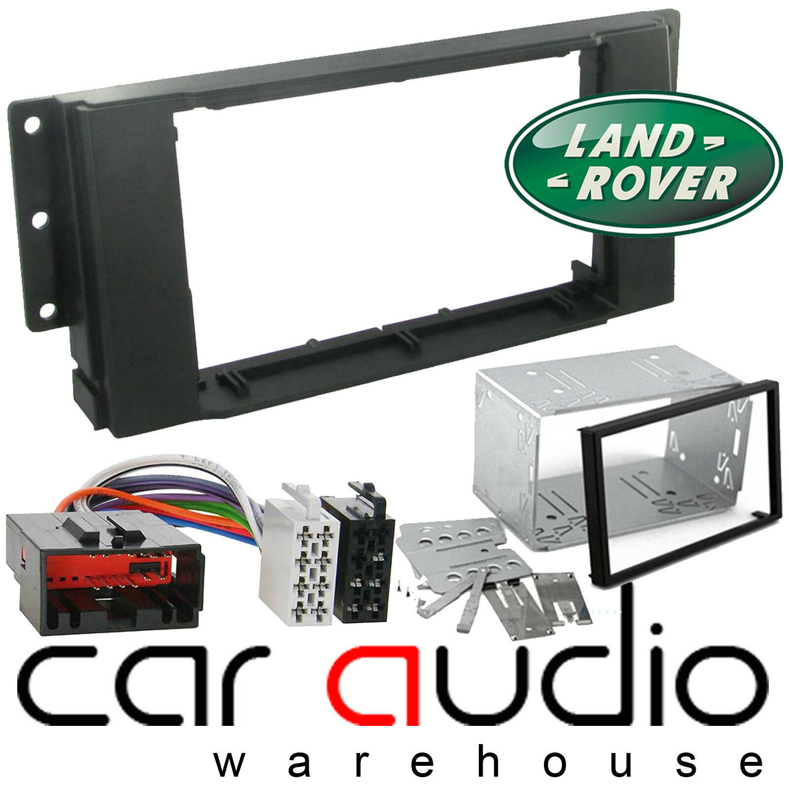 Landrover Range Rover Sport Car Stereo Double Din Fascia Panel Audio Wiring 1 Of 1free Shipping
