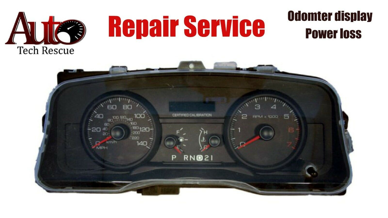 Ford Crown Victoria Police Taxi Instrument Cluster Odometer Repair Free Shipping See More