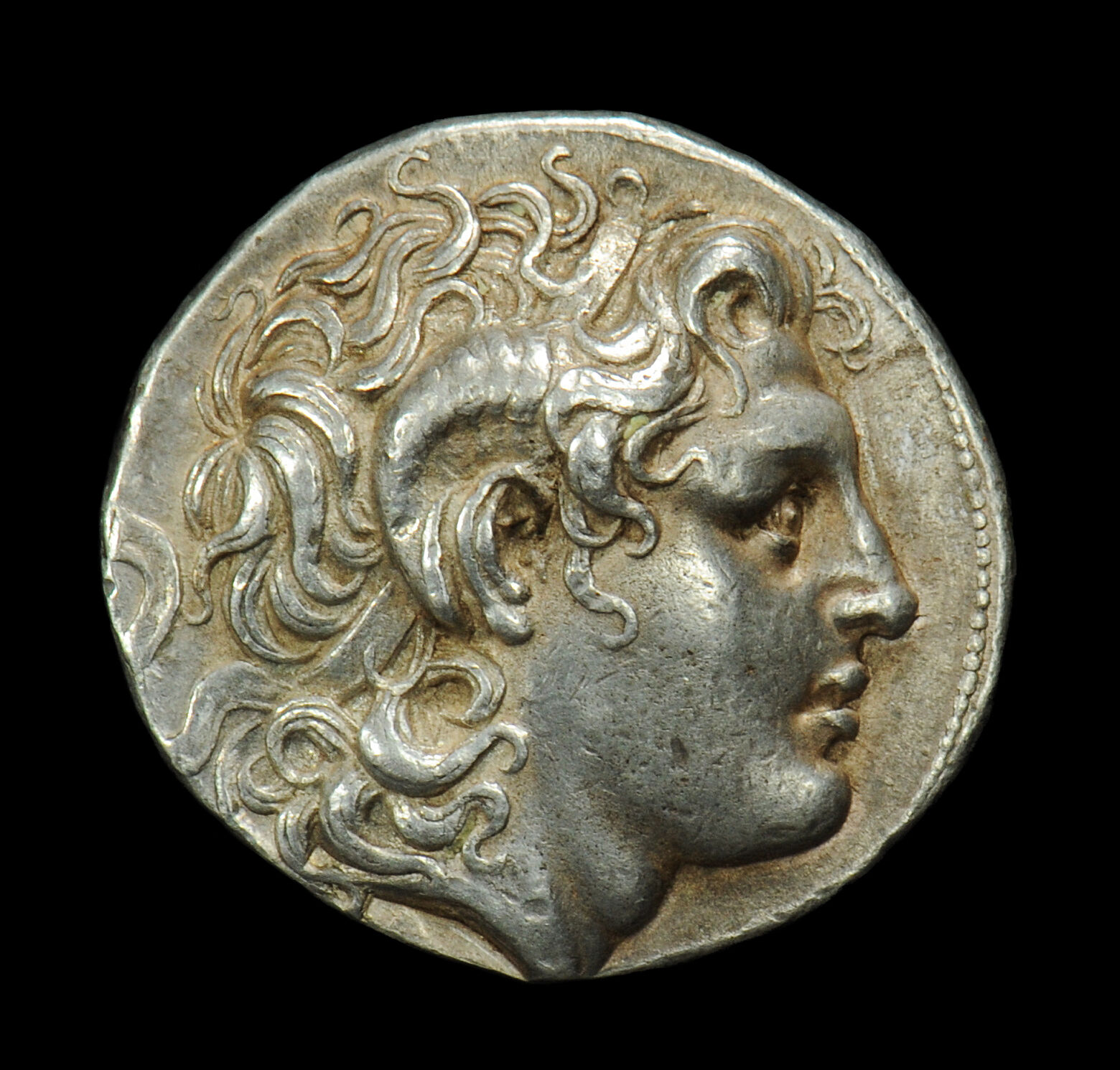 Aphrodite - Ancient Greek Silver Lysimachus Tetradrachm (323 - 281 B.c.)
